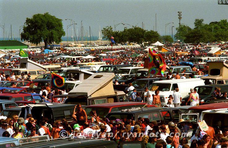 Parking lot scene