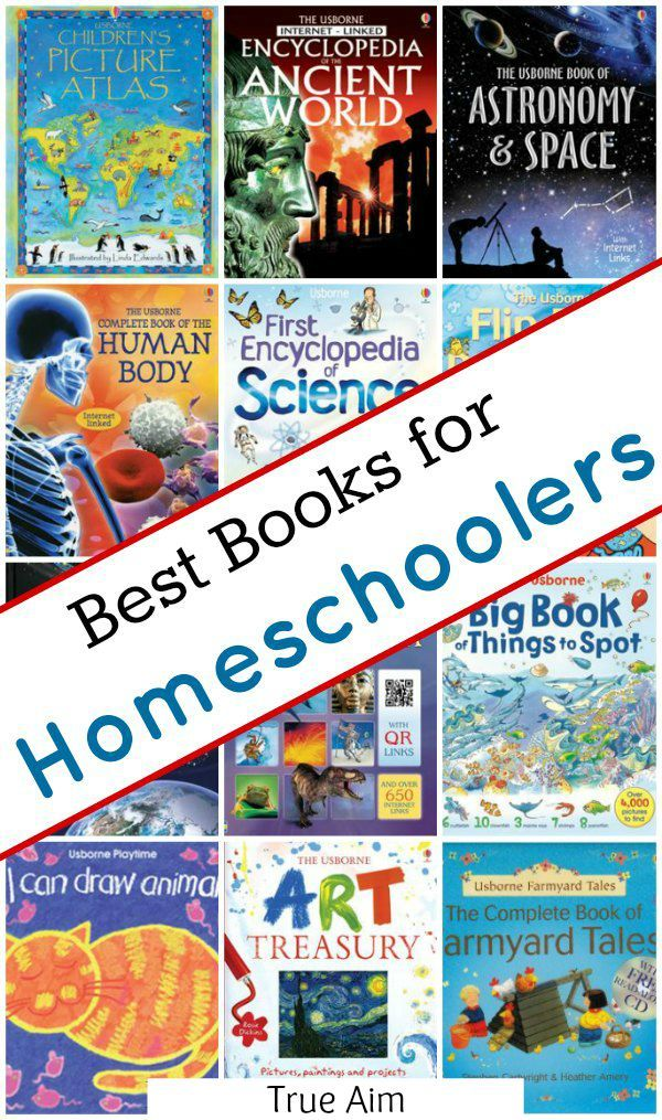 Best Books for Homeschoolers - 15 Books every homeschool should have
