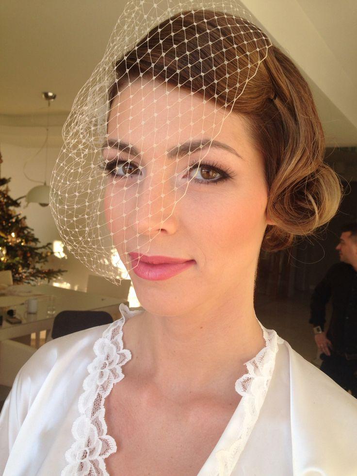 Great Gatsby Wedding makeup