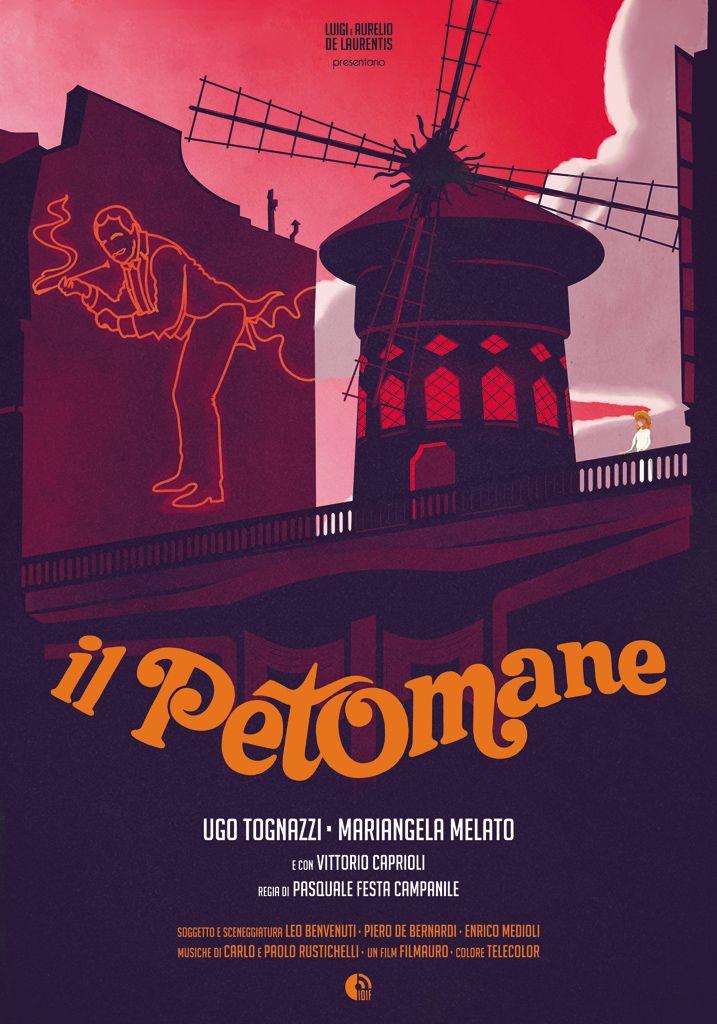 """33T d'Autore, celebrando #Tognazzi. Dal 17 ottobre al 22 novembre 2015 a #Cremona. 33 #manifesti d'autore """"rifatti"""" da 33 illustratori e grafici italiani, celebrano Ugo Tognazzi http://www.ilsitodelledonne.it/?p=18499 il petomane"""