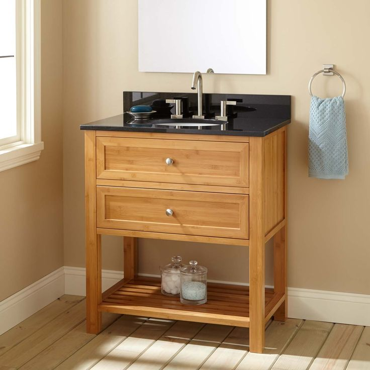 Best 25 narrow bathroom vanities ideas on pinterest for Bathroom cabinets narrow depth