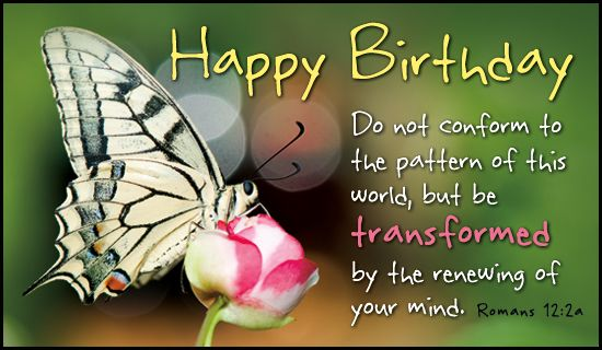 Happy Birthday Ecard Greetings Pinterest – Christian Happy Birthday Card