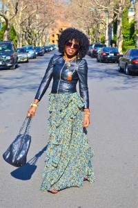 Your Handbag Can Say A Lot About YouMaxi Dresses, Fashion, Biker Jackets, Long Skirts, Maxis Dresses, Leather Jackets, Style Pantries, Maxi Skirts, Maxis Skirts