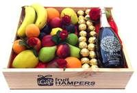 Te Hana Reserve Cuvée Gift Hamper + Ferrero Chocolate + Silk Red Roses  http://www.igiftfruithampers.com.au/mothers-day-gift-baskets/  Mothers Day Hampers - full of fruit! Add something sweet, cute or bubbly and then finish it off with some beautiful silk roses. #mothersdayhampers #mothersday #mothers #hampers #gift hampers #fruitbaskets #fruit #baskets #gifts