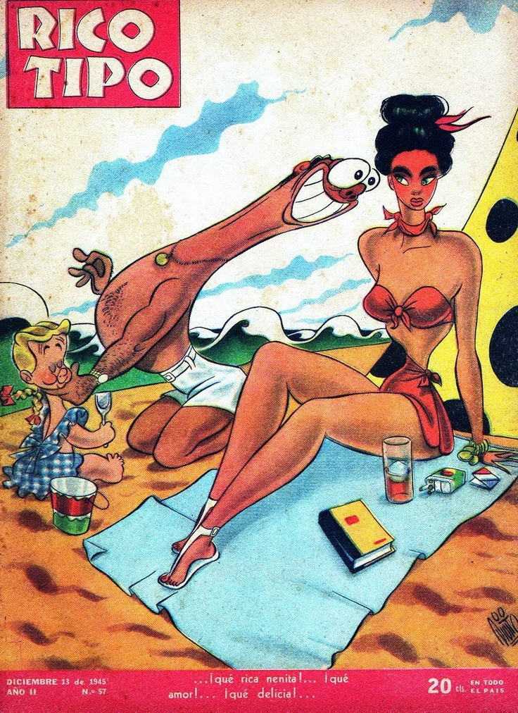 Revista Rico Tipo Año 2 Nº57 13 Diciembre 1945
