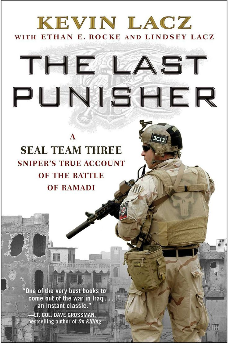 Just Arrived: The Last Punisher: A SEAL Team THREE Sniper's True Account of the Battle of Ramadi by Kevin Lacz  The Last Punisher is a bold, no-holds-barred first-person account of the Iraq War. With wry humor and moving testimony, Kevin Lacz tells the story of his tour in Iraq with SEAL Team Three, the warrior elite of the Navy. Read more…