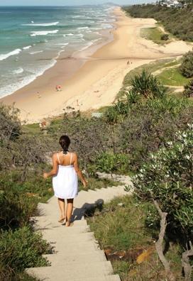 Sunshine Beach. Photo by Anastasia - salt magazine -love these stairs.