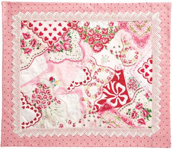 A Little Hanky Panky by Diane Volk Harris appeared in Quiltmaker Jan/Feb '10. Based on Cindy Brick's technique in Hanky Panky Crazy Quilts. http://www.quiltmaker.com/patterns/details.html?idx=10525