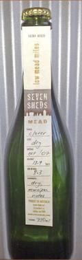 Seven Sheds Mead. Technically, not a wine, but whatever. Lovely and sweetish. Really does smell like clover flowers.