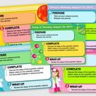 Science themed morning work/objectives template. TpT $2.00 (view with PowerPoint or Windows Photo Gallery)