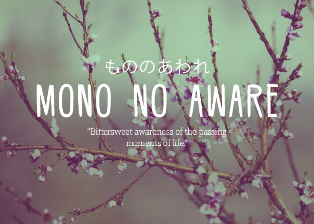 Beautiful Words - Mono no Aware