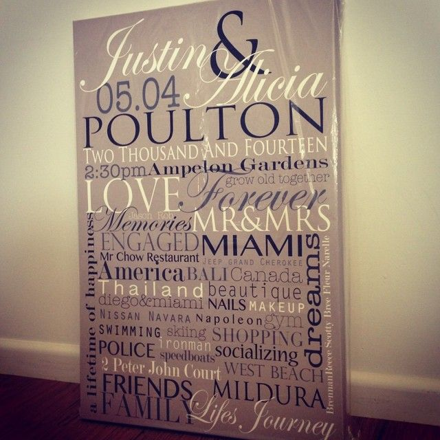 Wedding canvas 20x30 Inch #memoriesonwalls visit www.memoriesonwalls.com for pricing & to place your order... 
