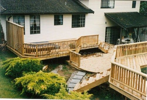34 best pet fence images on pinterest fence ideas yard for Above ground pool decks attached to house