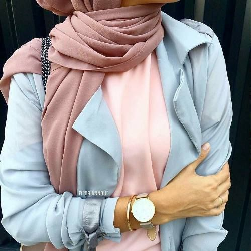 How to accessorize your hijab in winter – Just Trendy Girls