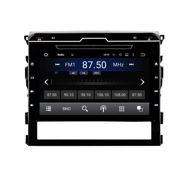 Rockchip 3188 Cortex A9 Quad core Android 5.1 Car Radio DVD for Toyota Land Cruiser 2016 With GPS 3G WIFI BT TV USB Mirror link