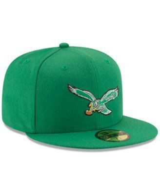 New Era Philadelphia Eagles Team Basic 59FIFTY Fitted Cap - Green 8