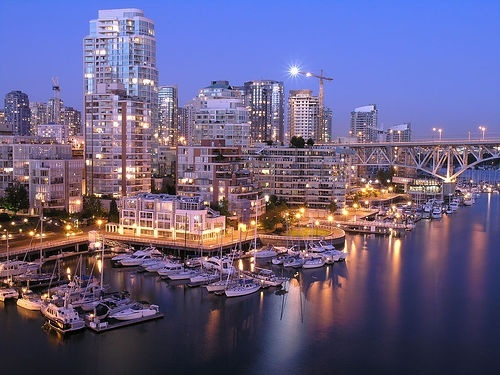 Vancouver travel-wishlist