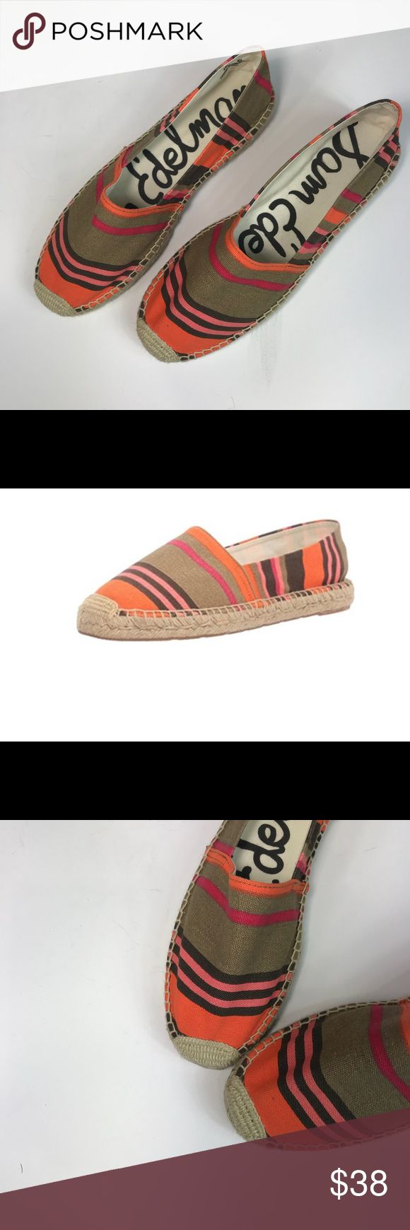 """Sam Edelman Espadrille NWT Sam Edelman Espadrille in Verona Slip on Style NWT  Never been worn Fits True to Size Measurements  Heel Height: .0.75""""   ❌🐱🐶🚭 or TRADES ❌ imperfections, holes, rips or tears Sam Edelman Shoes Espadrilles"""