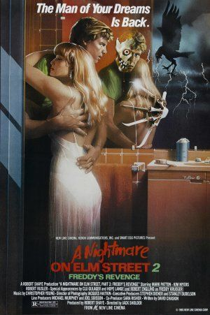 <3 A Nightmare On Elm Street Part 2: Freddy's Revenge (1985) movie poster (US)