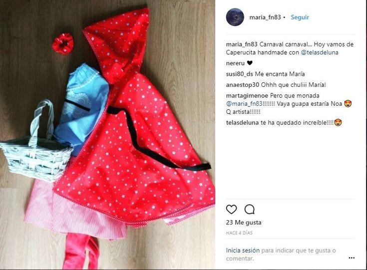 18 best regalos ideales images on pinterest favors boyfriends and disfraz de caperucita hecho por mara una de nuestras clientas con las telas estampadas fandeluxe Gallery