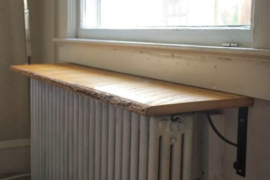 A Batonnet A Day: DIY: Radiator Shelves