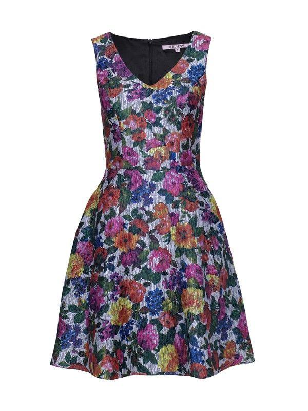 Review Australia | Blooming Dress Multi