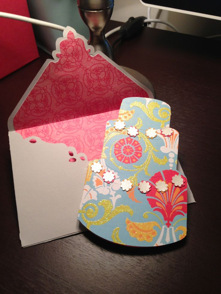Wonderful Card Making Ideas Tips Projects Part - 4: Cricut Wild Card #wedding