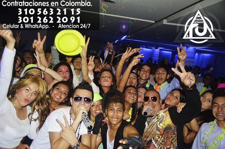 #Show #Reggaeton #Bogota @Reinourbano