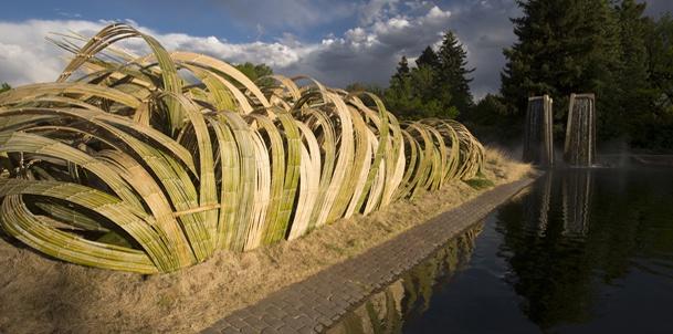 Kizuna: West Meets East | Denver Botanic Gardens: Artists Employment, Seasons Signature, Artists Work, Signature Exhibitions, Ephemer Artworks, Art Installations, Site Specif Work, Bonsai Pavilion, Installations Artists