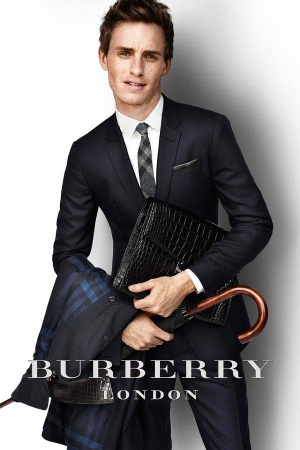 Eddie Redmayne for Burberry