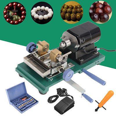 110V 200W Mini Bohrmaschine Tischbohrmaschine Drill-Power Bohrer Fräse + Zubehör