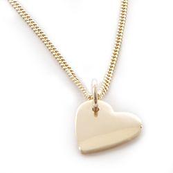 9 ct gold love heart pendant ardmore jewellery 5