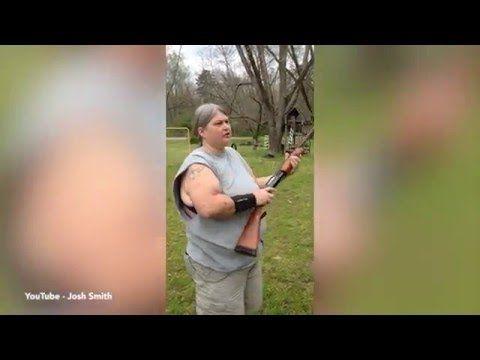 Redneck Mom Shotguns iPhones to Teach Her Kids a Lesson