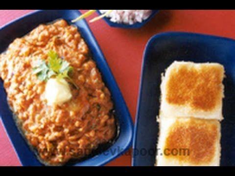 Pav Bhaji by Master Chef Sanjeev Kapoor  Mumbai style Pav Bhaji recipe by Master chef Sanjeev Kapoor