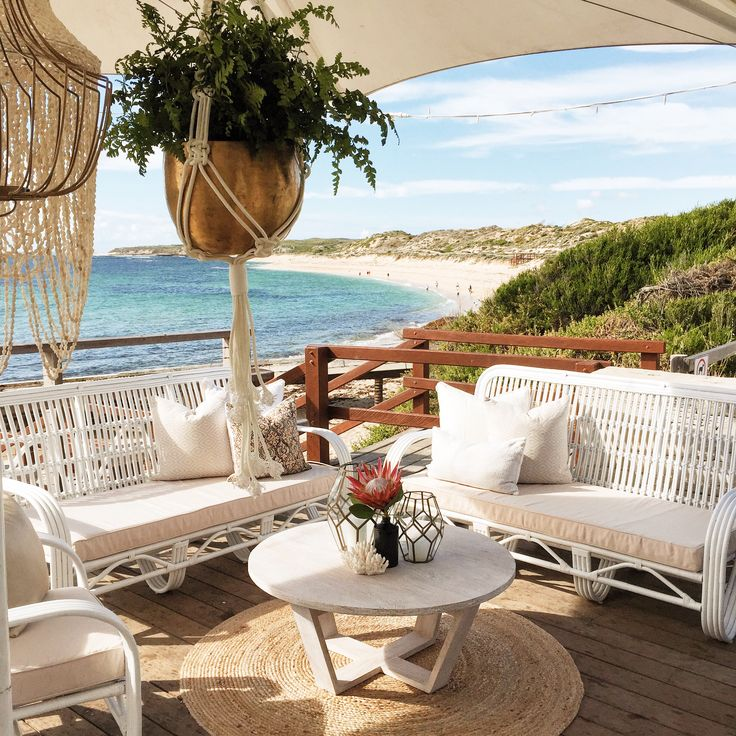 Butterfly lounge collection from Empire Events - Perfectly to suited to our beach location.