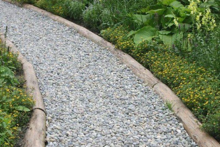 Gartenweg Aus Kies Gartenwegeideen Gartenwegeanlegen Gartenwege In 2020 Gartenweg Garten Garten Design