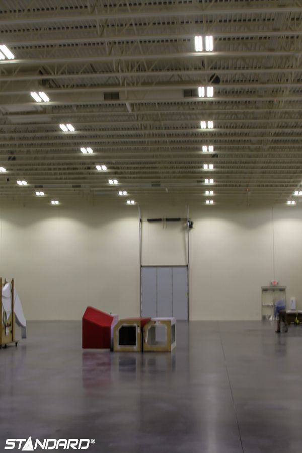 Summer is the perfect time to upgrade your gymnasium luminaires to LED!  #StandardProducts #Lighting #School
