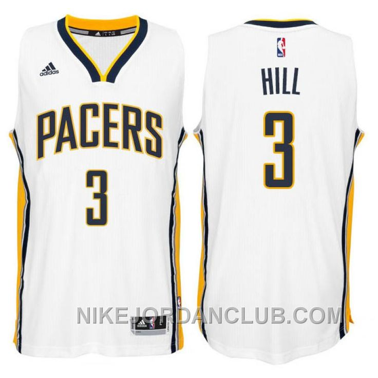 http://www.nikejordanclub.com/george-hill-indiana-pacers-3-201415-new-swingman-home-white-jersey-authentic.html GEORGE HILL INDIANA PACERS #3 2014-15 NEW SWINGMAN HOME WHITE JERSEY AUTHENTIC Only $89.00 , Free Shipping!