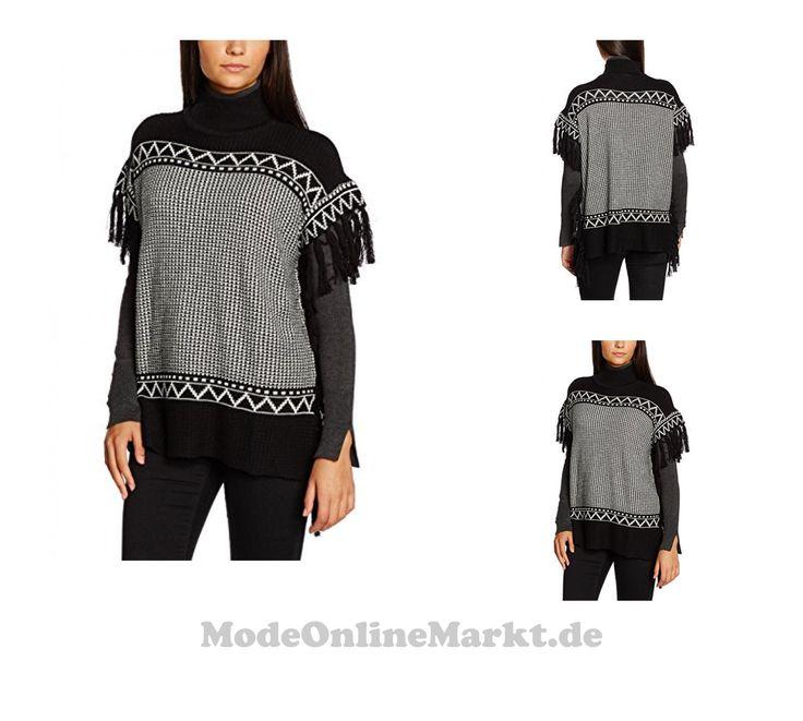 5710637899391 | #VILA #CLOTHES #Damen #Pullover #Vigloby #S/S #Knit #Top, #Mehrfarbig #(Black), #34 #(Herstellergröße: #XS)