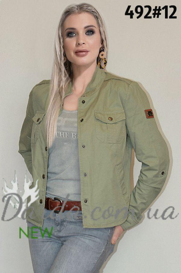1cae39ed Ветровка пиджак сафари женская Ylanni 492-1 | Ветровки женские 2019 ...