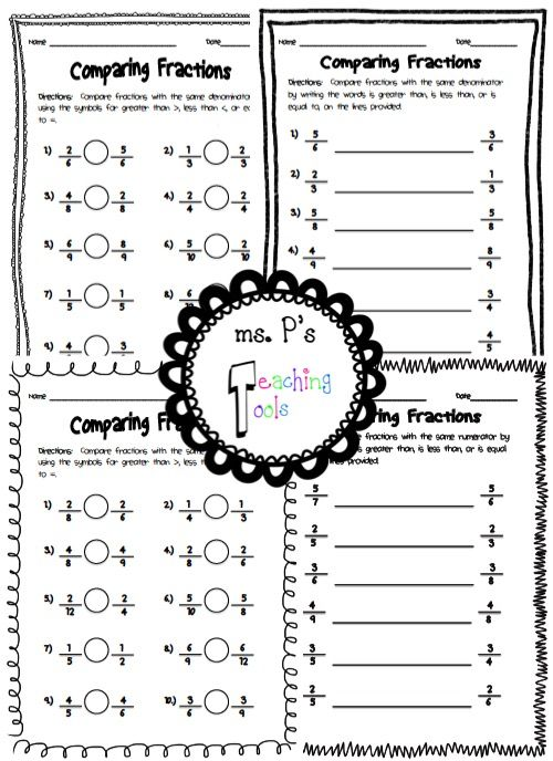 19 best AlL AbOuT FrAcTiOnS! images on Pinterest | Fractions ...