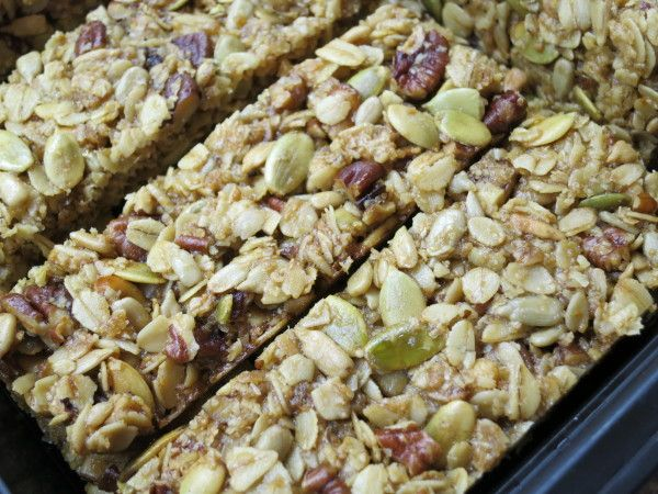 If you think you don't like granola bars, make them from scratch. Seriously.
