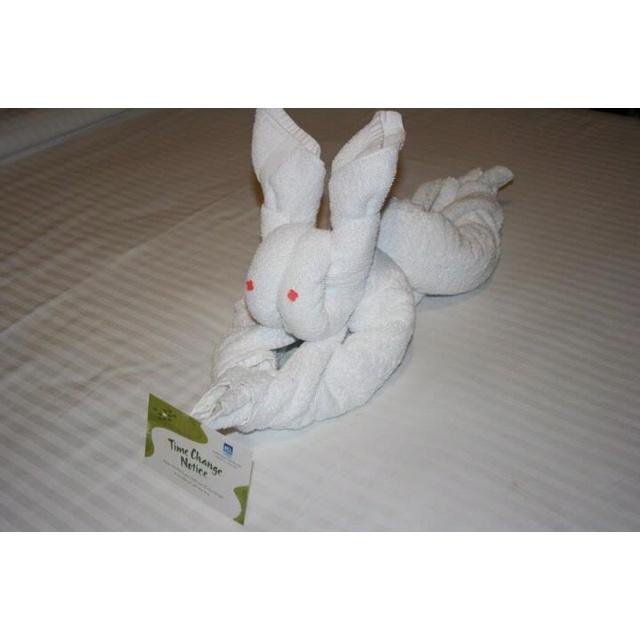 towel rabbit towel origami tutorial videos http