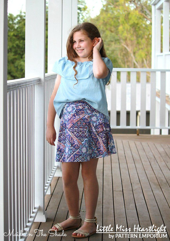 Little Miss Heartlight Skirt Short Maxi Skirts Festival Skirts