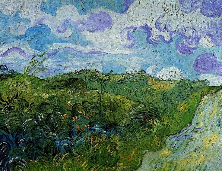 Vincent van Gogh. Green Wheat Fields