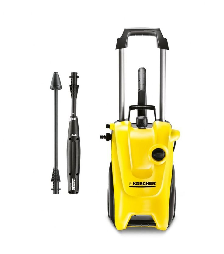 Buy Kärcher K4 Compact Home Water Cooled Pressure washer featuring a powerful motor, great performance for a low price from Kärcher..