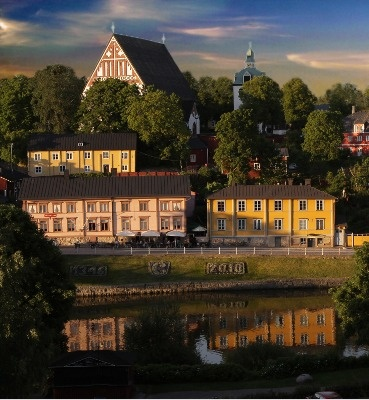 Porvoo old church from 1400  Nice town. There's a candy store there with excellent chocolate!  Was there 7/9/13