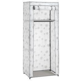 Ντουλάπα DAMHUS 60x150 cm λευκό/γκρι