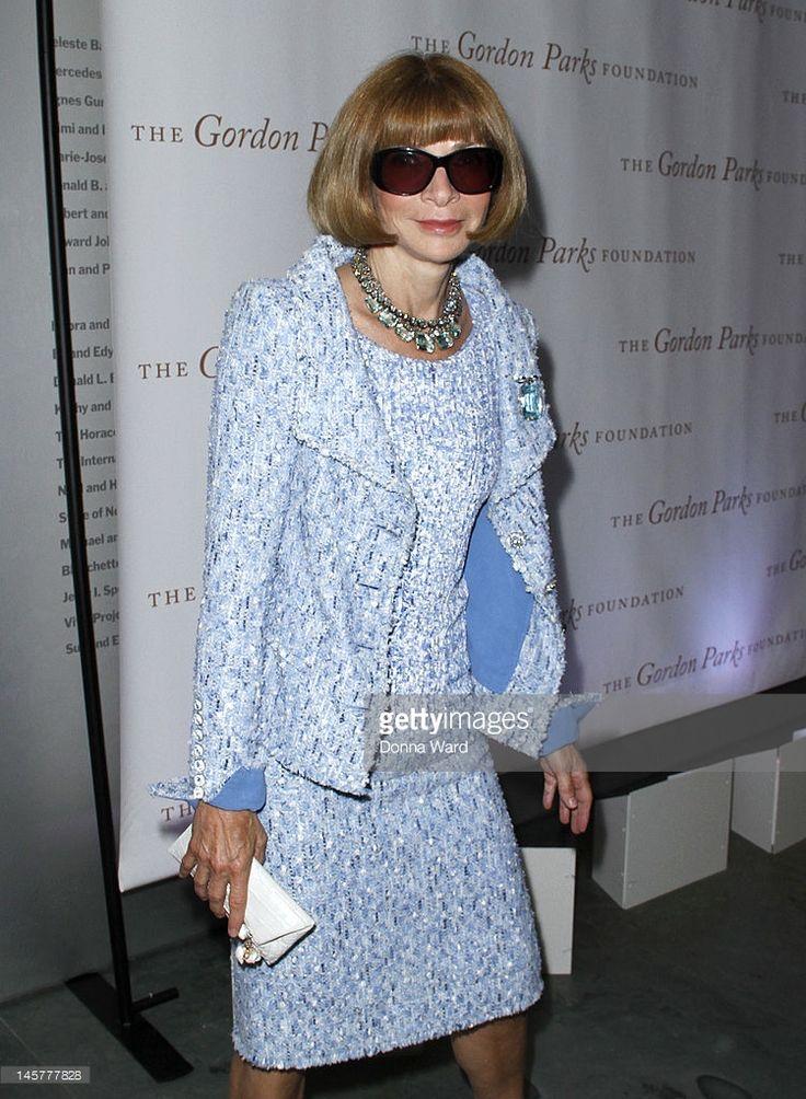 Anna Wintour attends the Gordon Parks Centennial Gala at Museum of Modern Art on June 5, 2012 in New York City.