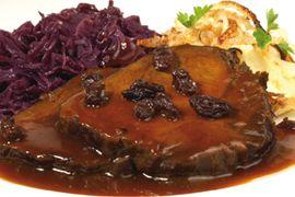 Ein feiner Sonntagsbraten. Rinderbraten mariniert RICHTER REZEPTE  Guten Appetit! www.richter-fleischwaren.de